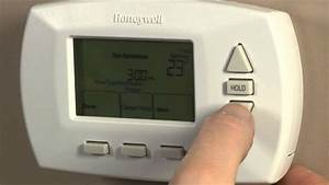 How To - Program A Programmable Thermostat