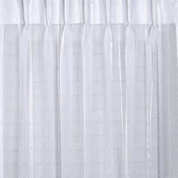 Yellow Black Shower Curtain