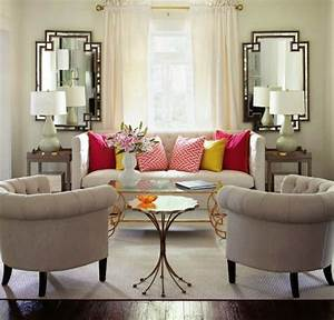 living room attractive square mirror wall decor ideas With wonderful living room wall art decoration