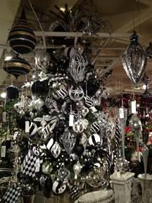 black and white christmas decor black white christmas tree ideas