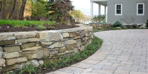 lawn retaining wall ideas retaining wall design landscaping network