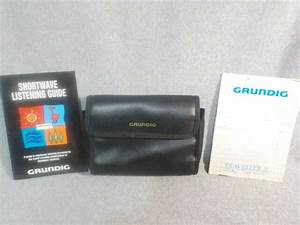 Listening Guide  Manual  U0026 Case For Grundig Traveller Ii Am