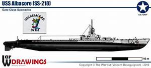 Submarine Uss Albacore  Ss