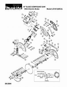 Download Free Pdf For Makita Ls1013l Compound Saw Other Manual