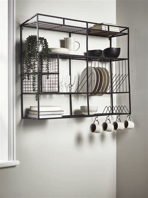 industrial style iron wall unit wide muebles de diseno industrial muebles estilo industrial