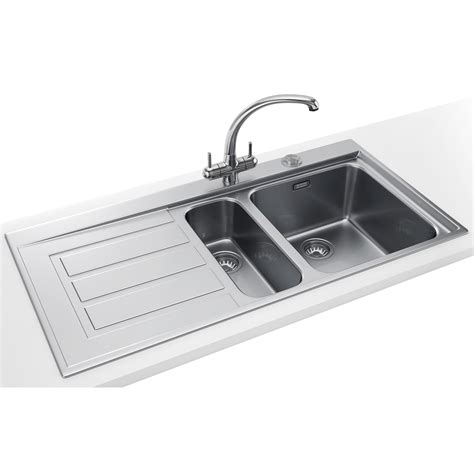 franke kitchen sinks franke epos propack eox 651 stainless steel kitchen sink
