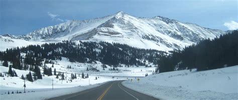 colorado snowstorm vail pass fremont pass snow