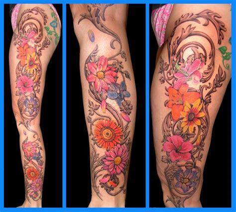 ideas  flower leg tattoos  pinterest purple ink tattoos piercing tattoo