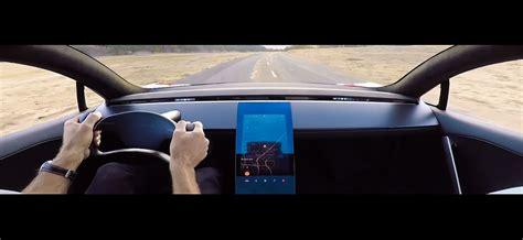 tesla roadster interior tesla next roadster s blistering acceleration cameos