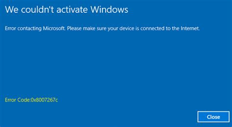 how to fix we couldn t activate windows problem with error