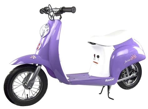 Razor Pocket Mod Betty 24v Electric Scooter (purple)