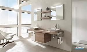 meubles salle de bains bois jacob delafon espace aubade With meuble salle de bain jacob delafon