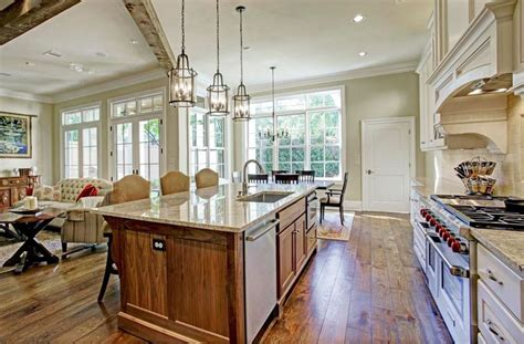 open concept kitchens pictures  designs layouts
