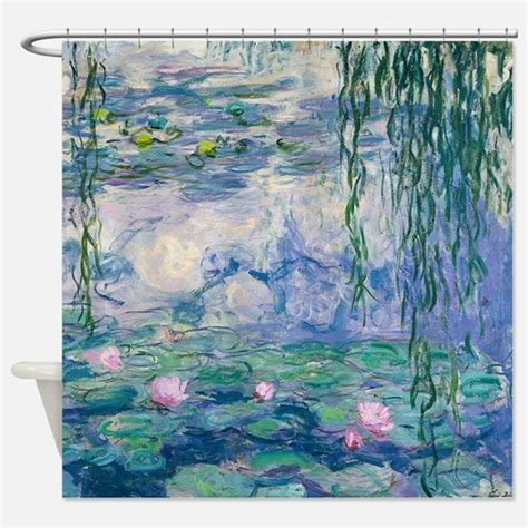 Monet Shower Curtains Cafepress