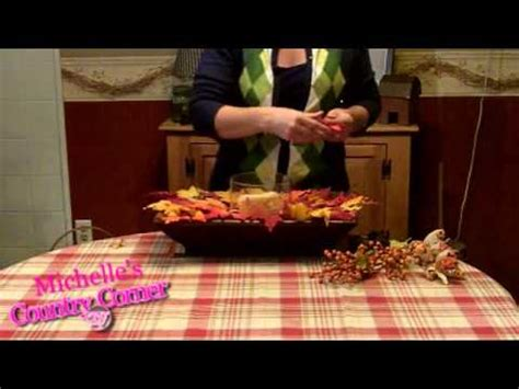 country home decorating ideas fall table centerpiece