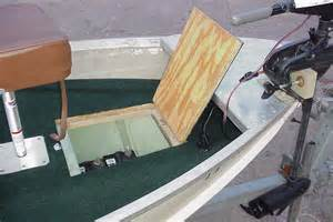 how to build a front deck on a jon boat go boating