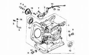 Honda Gx160 Used Parts