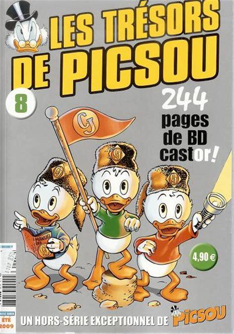 picsou magazine hors s 233 rie 8 les tr 233 sors de picsou