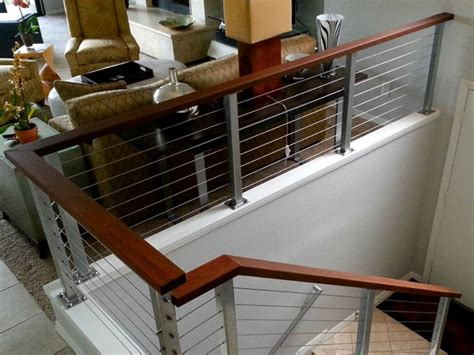 interior design ideas for kitchen interior railing systems azek railing stairs and kitchen