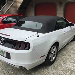 5th gen white 2014 Ford Mustang V6 automatic For Sale - MustangCarPlace