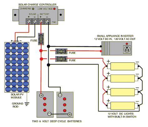 Hook Solar Panels Series Parallel Volt