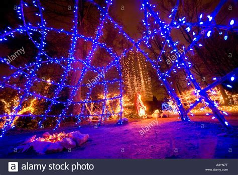 brookside gardens christmas led lights display in wheaton