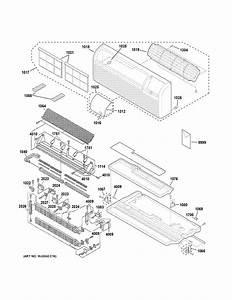 Ge Az61h07eacm2 Room Air Conditioner Parts