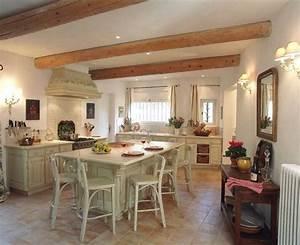 Kuchyně ve stylu francouzského venkova
