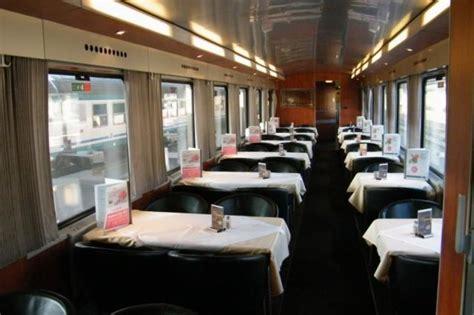 carrozza ristorante freccia rossa abbiamo provato i treni tedeschi ferrovie a nordest