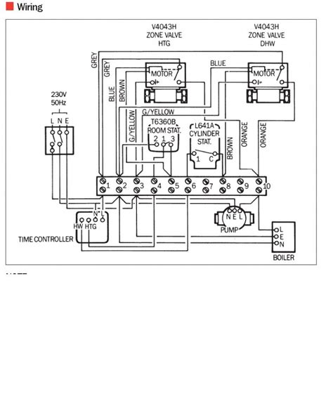 wiring diagram for central heating system diynot