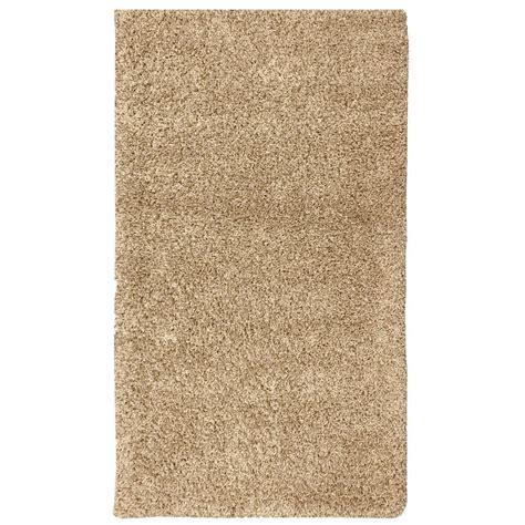 shag rug 5x7 berrnour home plush solid shaggy beige 5 ft x 7 ft shag