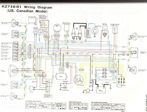 1983 Kawasaki Wiring Diagram by 76 Kz750 Kzrider Forum Kzrider Kz Z1 Z Motorcycle