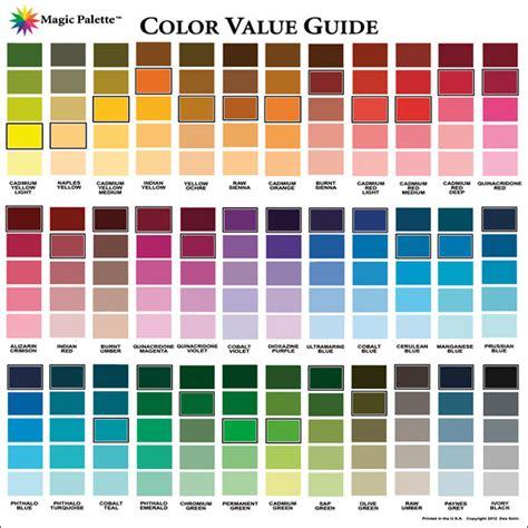 magic palette artist s color value guide foxy studio