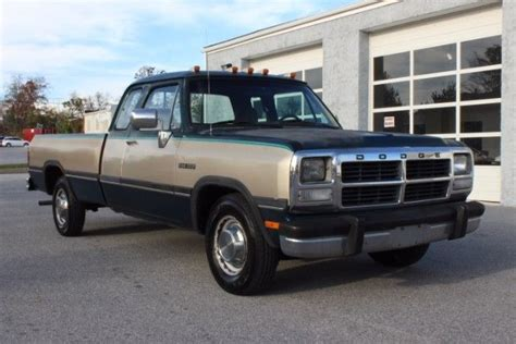 how things work cars 1993 dodge d250 club navigation system 1993 dodge d250 ex cab 360 auto 2wd nice truck for sale photos technical specifications