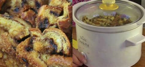 crock pot bread pudding start and end your day with crock pot cinnamon raisin bread pudding