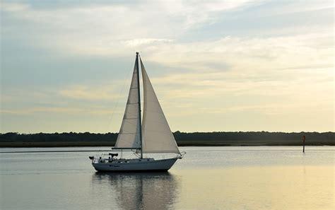 sailboat sailing river  photo  pixabay
