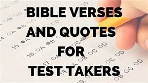 Bible Verses an... Test Bible Quotes
