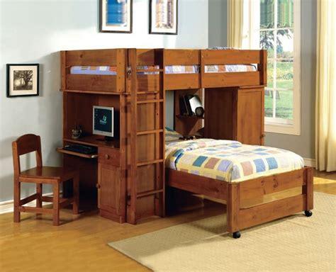 bunk beds  desks   rethink bunk bed design