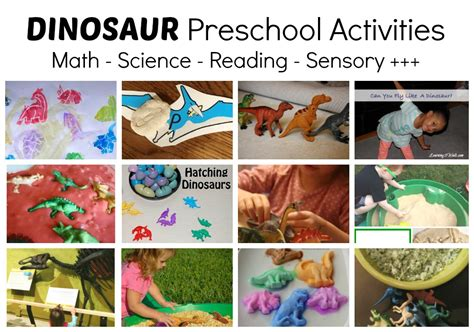 dinosaurs lesson plan for preschool dinosaur activities for preschool math play and more 938