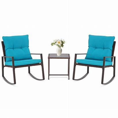 Outdoor Bistro Patio Rocking Suncrown Table Furniture