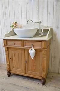 Badmöbel Vintage Look : vintage waschtische funktionst chtig aufgearbeitet ~ Lateststills.com Haus und Dekorationen