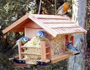 Faire Une Mangeoire Et Un Nichoir Pour Oiseaux