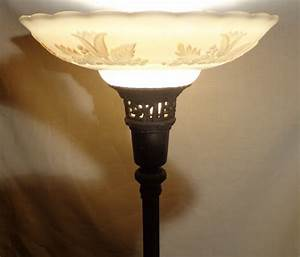 Replacement torchiere floor lamp shades meze blog for Replacement lampshade for old floor lamps