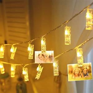 1m, 2m, Led, String, Light, Photo, Clip, Holder, Bulb, Wedding, Book, Desk, Decor, Lamp, New, Year, Party, Home