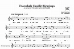 Chanukah Candle Blessings | Sheet Music Direct