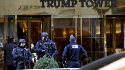 secret service turns manhattans trump tower  fortress