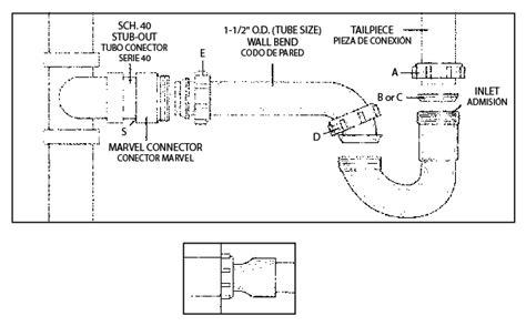 turn tub faucet into pp940w 1 1 2 quot or 1 1 4 quot x 1 1 2 quot mastertrap p trap 1 1 2