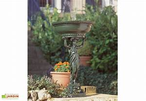 Fontaine Circuit Fermé : fontaine de jardin en fonte circuit ferm cariatide ~ Premium-room.com Idées de Décoration