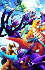 dragon type pokemon wallpaper