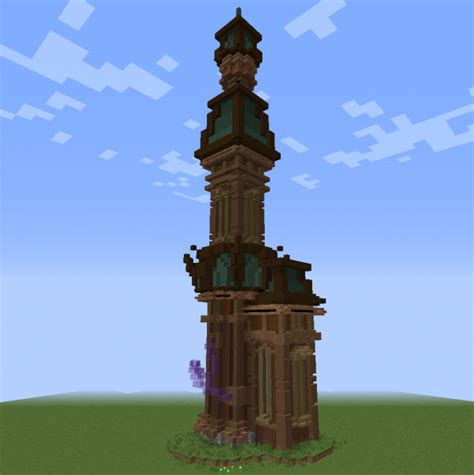 steampunk fantasy tower house  grabcraft  number
